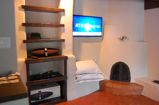 Southwest-style Home Video Display