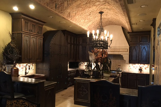 Castle Kitchen Video Display