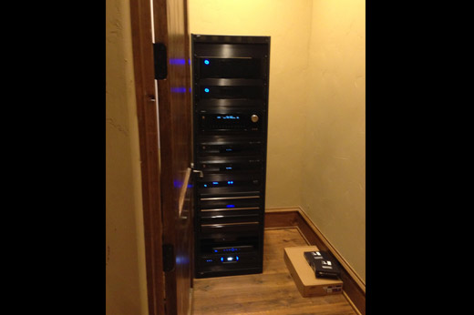 Ranch Video & Audio Rack System