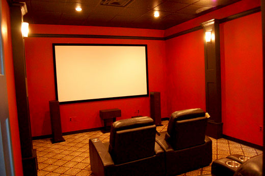 Showroom Theatre Room