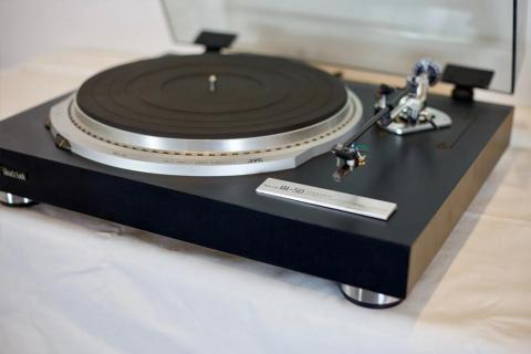 Top View, JVC QL-50 Turntable