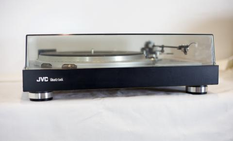 Front View, JVC QL-50 Turntable
