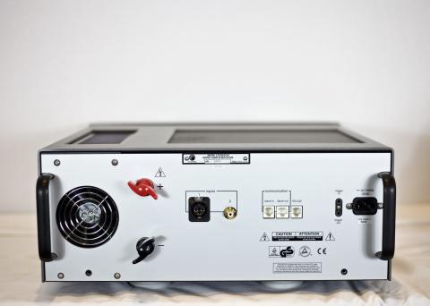 Back View, Mark Levinson No 436 Audio Amplifier.