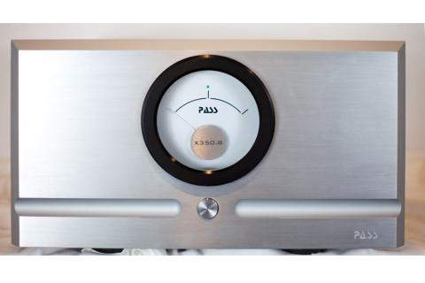 Pass X350.8 Amplifier - front view