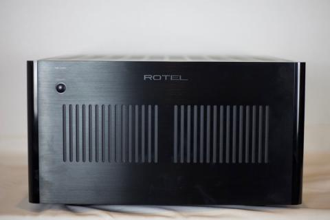 Rotel RB-1590 Amplifier--front