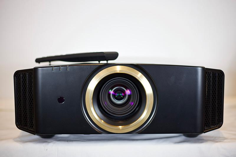 Front View,  JVC DLA-RS4800 Video Projection Equipment.