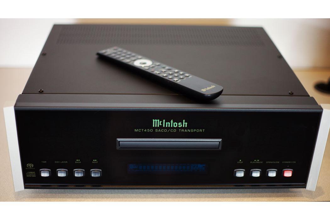 McIntosh MCT450 SACD/CD Transport - w remote